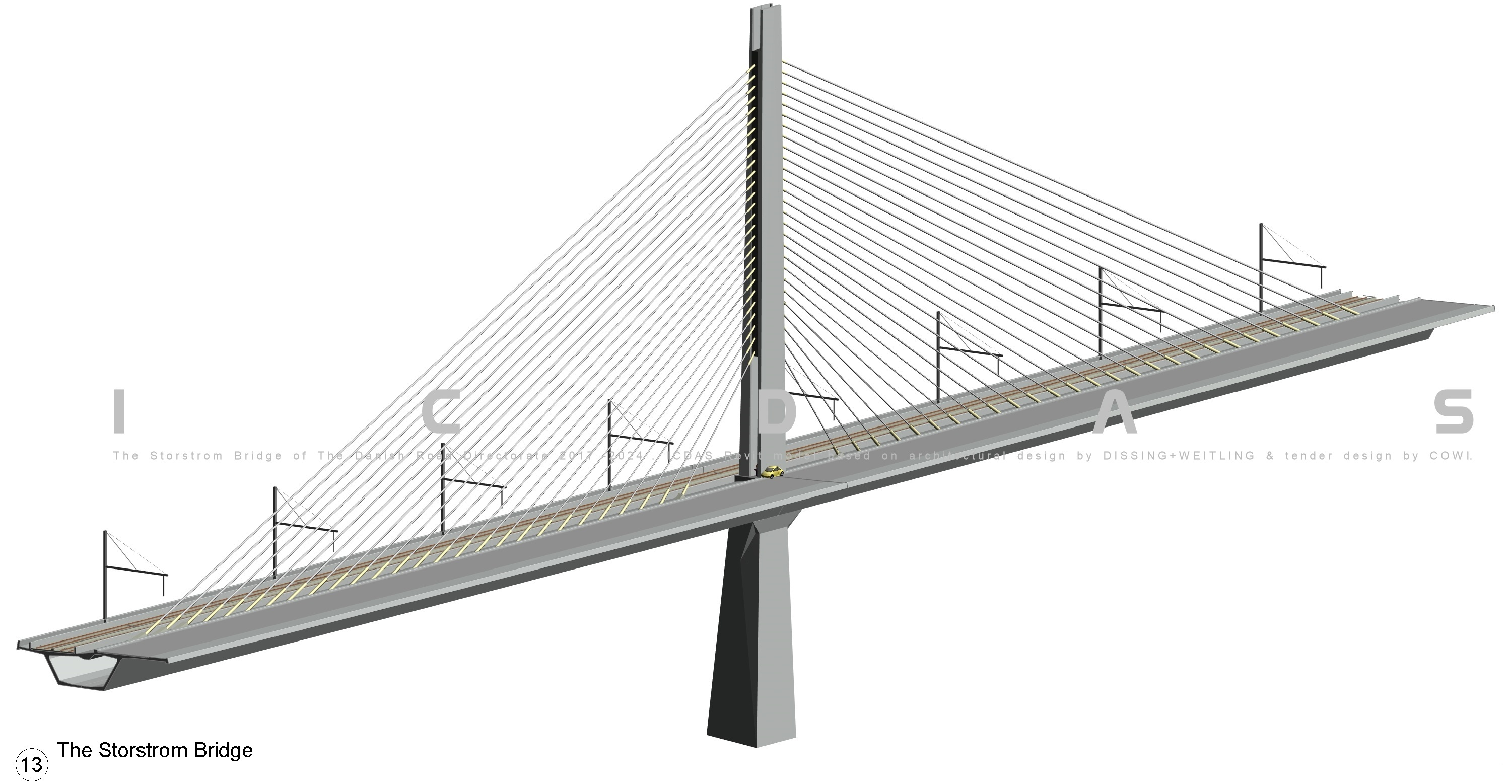 West point bridge design sample bridge - 760 920 And 1080 Icdas Revit Create A Curved 3d Bridge Deck Of 320m From Which Any Cross Section Can Be Generated For The Dimensions